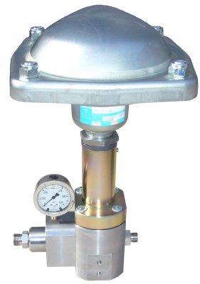 Regulátor tlaku pneumatický